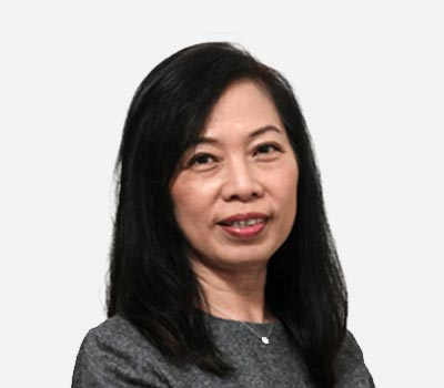 Ms. Susan Chia - General Manager of Invitrocue Singapore